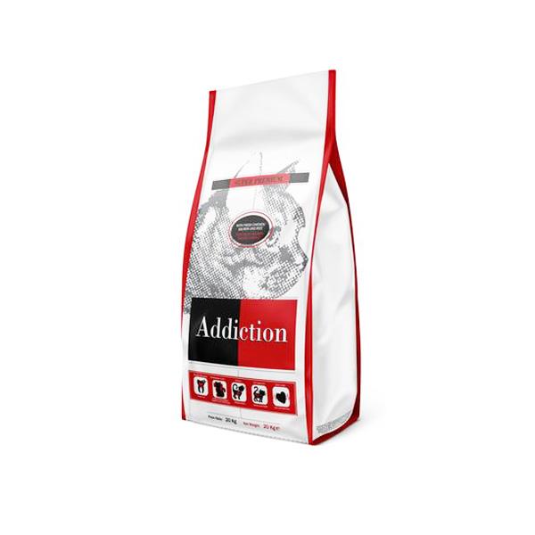 "ADDICTION אדיקשן עוף ואורז 15 ק""ג"