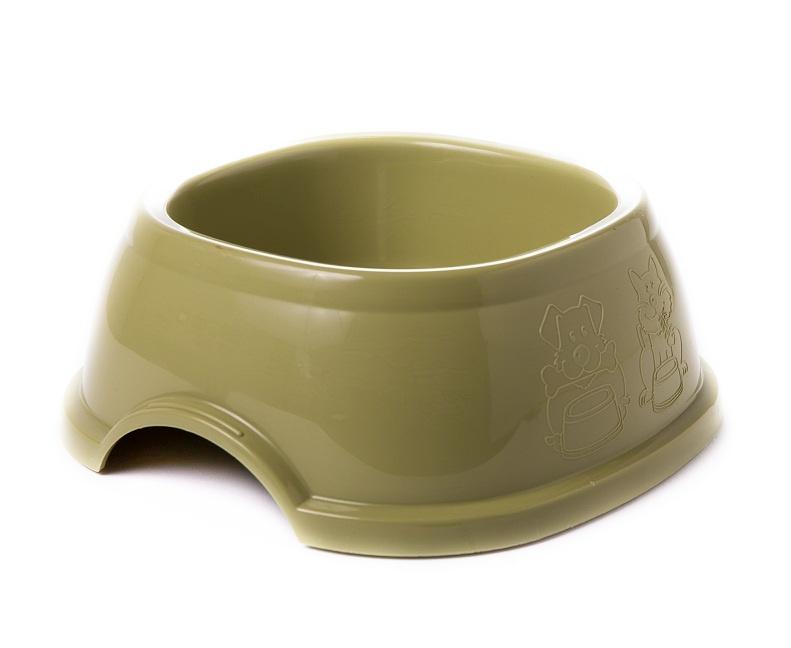 קערת אוכל בראק צבע ירוק זית