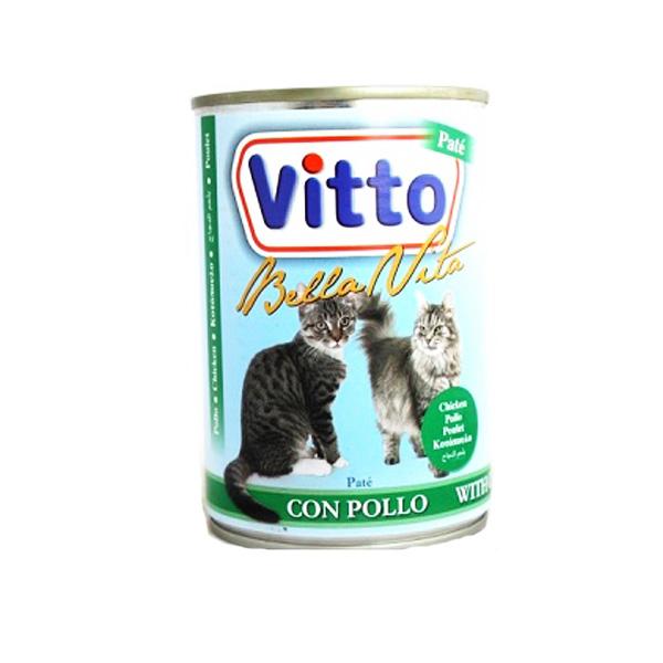 VITTO שימורים לחתול 410 גרם מבצעי כמות