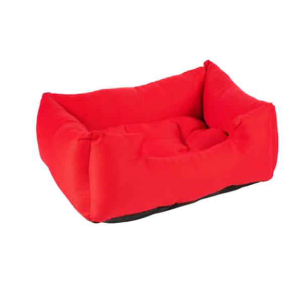 מיטה אדומה מכותנה