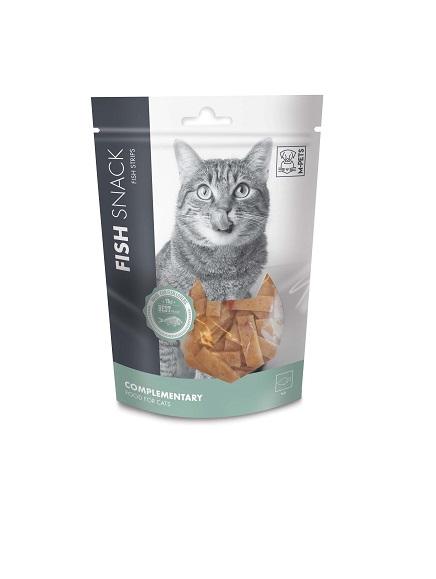 M PETS מארז חטיפי דגים לחתול