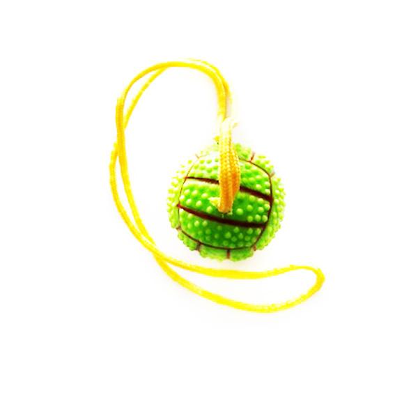 צעצוע כדור יד עם חבל
