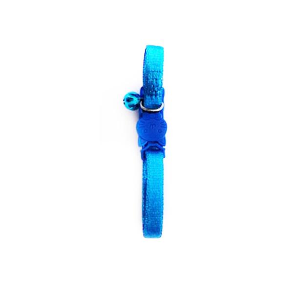 קולר פטלר כחול עם פעמון