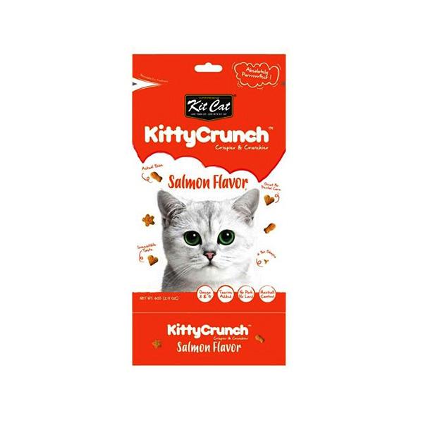KITTY CRUNCH חטיף סלמון  לחתול 60 גרם
