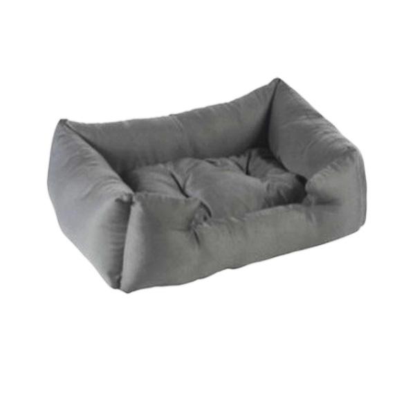 מיטה אפורה מכותנה