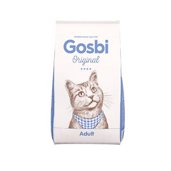 GOSBI – גוסבי לחתול בוגר בטעם עוף סלמון וטונה
