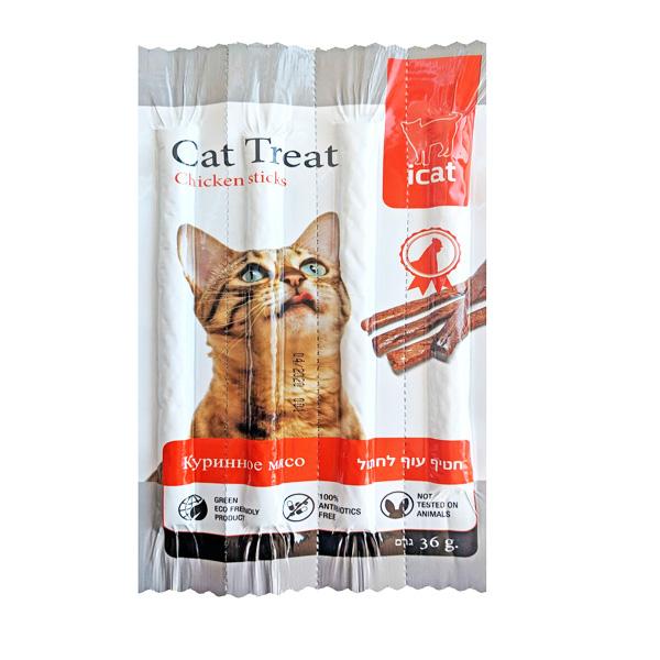 ICAT חטיף סטיק לחתול 36 גרם
