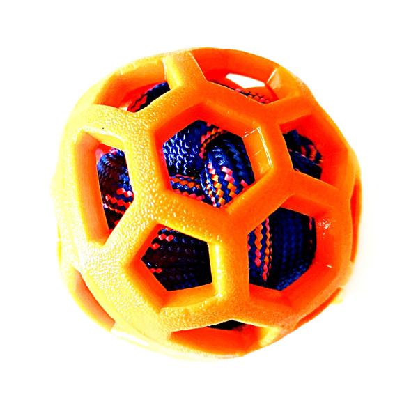 כדור גומי עם חבל