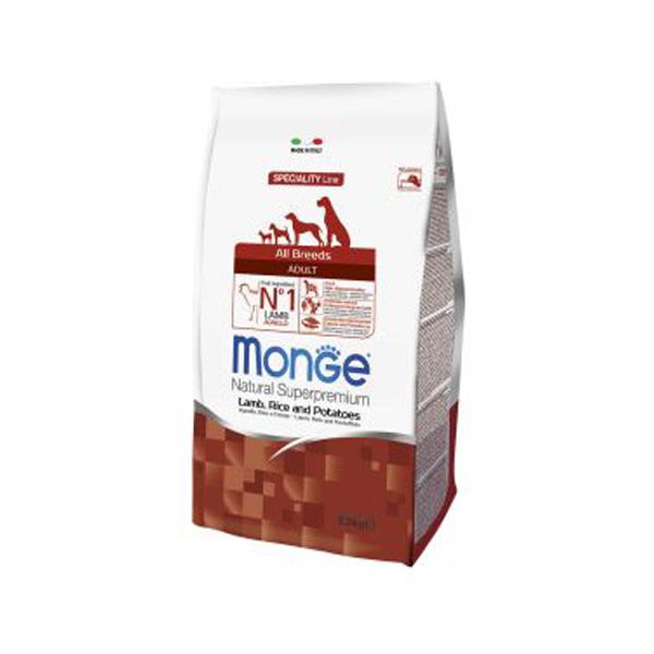 "MONGE מונג' כבש ואורז 12 ק""ג"