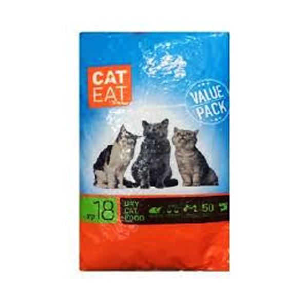 "CAT EAT קט איט לחתולי רחוב 18 ק""ג"