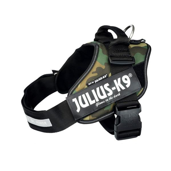 """JULIUS רתמת הולכה """"צבאית"""" ג'וליוס לכלבים"""