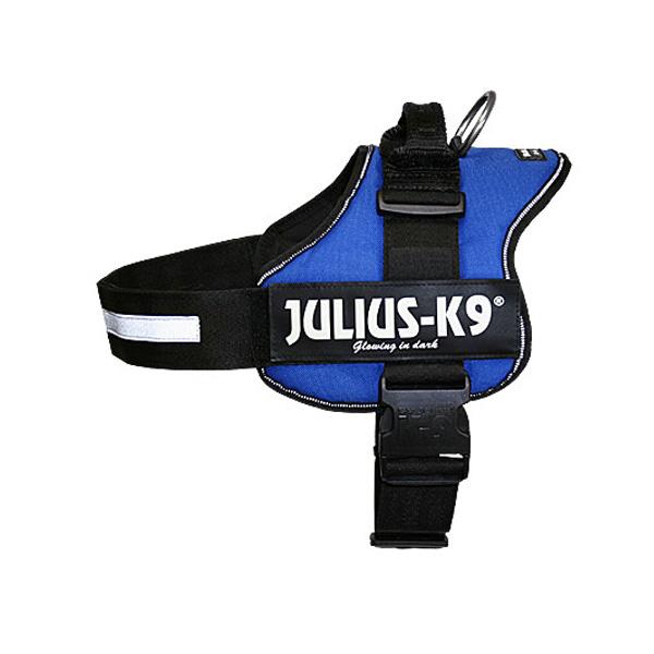 JULIUS רתמת הולכה כחולה ג'וליוס לכלבים