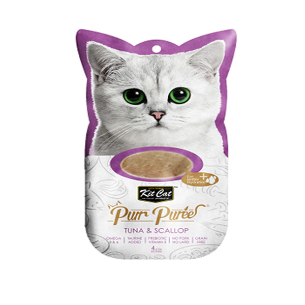 מעדן שלוקים קיטקט לחתול 60 גרם- טונה וצדפות