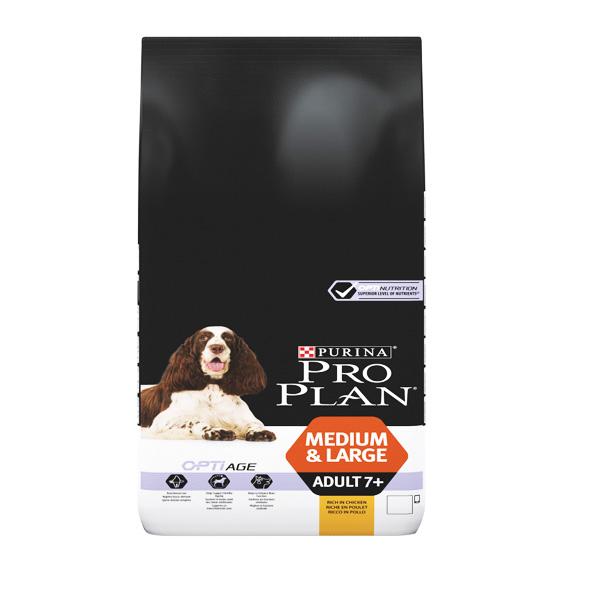 """PROPLAN – פרופלאן עוף ואורז לכלב מבוגר/סניור 14 ק""""ג"""